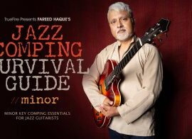 Truefire Fareed Haque Jazz Comping Survival Guide Minor TUTORiAL