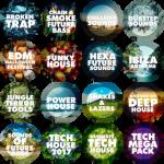 Big EDM loops, presets, patches, impulses, MIDI, SF, Akai BUNDLE 2018