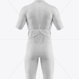 Men's Cycling Suit Mockup 49824 Download