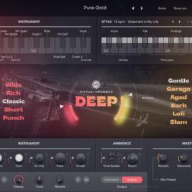 UJAM Virtual Drummer DEEP v2.1.1-R2R