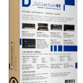 Arturia V Collection and FX 8 Jan-Apr 2021 [WIN]