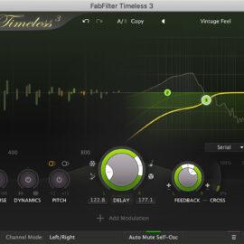 FabFilter Timeless 3 v3.0.0 (Mac OS X)