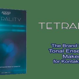 Audiofier Tetrality KONTAKT